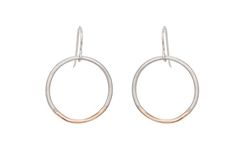 NEW!! gradient circle hoops [E306s]   Colleen Mauer Designs