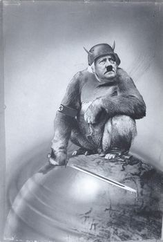 And Yet It Moves! John Heartfield's portrait of Adolf Hitler, 1943. Why does the Akademie der Kunste not want Heartfield's work on social media??