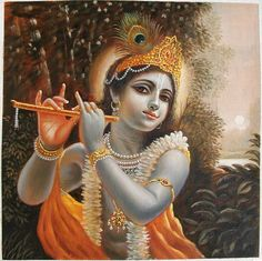 """""""When I came to know the Supreme Person, the Supreme Artist behind all the beauty in the world, material nature no longer had the same fascination as before. It is still beautiful, but the personal form of God, Krishna, is the most beautiful; His gorgeous material energy simply serves as a reminder of Him. """""""