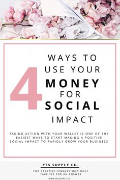 As a small business owner, you can easily make a social impact through your finances which help you build a business that upholds your core values.