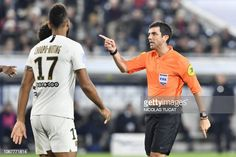 FBL-FRA-LIGUE1-BORDEAUX-PSG Neymar Vs, Referee, Football Match, Paris Saint, Saint Germain, Psg, Bordeaux, French, French People