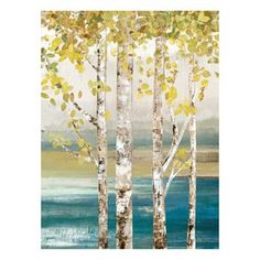''Down By The River II'' Canvas Wall Art