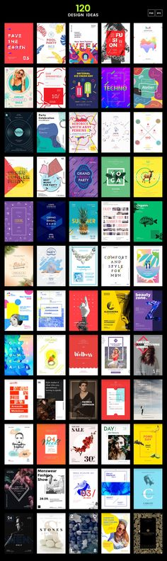 120 in 1 Poster & Flyer Bundle • Available here → https://creativemarket.com/ambr/1654219-120-in-1-Poster-Flyer-Bundle?u=pxcr