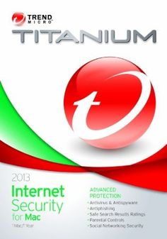 Trend Micro Titanium for MAC 2013