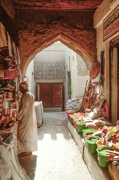 The old souk or market in Nizwa, Oman