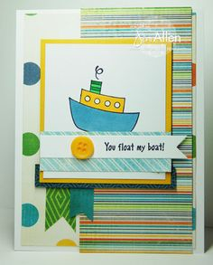 My Stampin' Spot: You float my boat!!  May 2012 DT Challenge