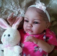 "19"" Beautiful Reborn Baby Girl Biracial Shyann | Dolls & Bears, Dolls, Reborn | eBay!"