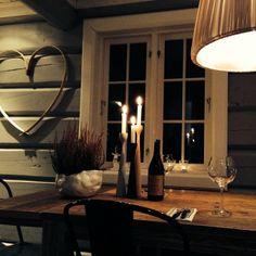 Lodge candle light evening with Rolf™ original candlesticks, by freemover.se designer Maria Lovisa Dahlberg