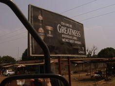 Benin, Africa 2011, december, guiness