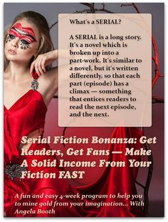 If you're writing fiction, you've heard of serials. A serial is a long piece of fiction, which is published as a part-work. Publishing serials has benefits.
