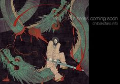 Yamata No Orochi -from the oldest chronicles of Japan on Behance