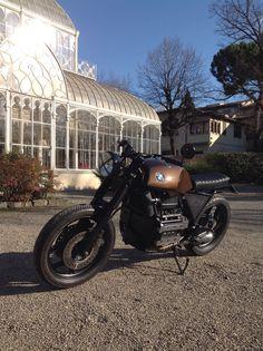 Bmw k75 by firenzemotorcycles!!