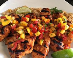 honey sriracha grilled chicken