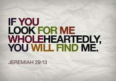 Diligently seeking p.s. I need a lil more Jesus.....