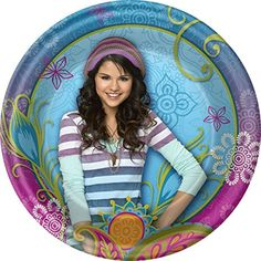 Wizards Of Waverly Place Small Paper Plates (8ct) #Wizards #Waverly #Place #Small #Paper #Plates #(ct)