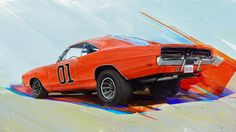 "Check out this @Behance project: ""Muscle Car Art"" https://www.behance.net/gallery/56674869/Muscle-Car-Art"