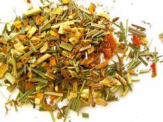 ENERGISE- Papaya and ginger make a refreshing and invigorating caffeine-free blend.