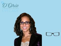 If you guessed rectangular you were right! #celebrityguess #guessinggame #drdorio #aliciakeys #fashioneyewear
