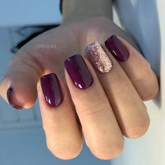 popular fall nail colors for now 15 ~ my.me popular fall nail colors for now 15 ~ my. Purple Acrylic Nails, Plum Nails, Burgundy Nails, Dark Purple Nails, Fall Gel Nails, Maroon Nails, Purple Nail Polish, Rose Gold Nails, Autumn Nails