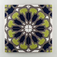 Tile lust. - Persian Star tile from Fireclay Tile Co.