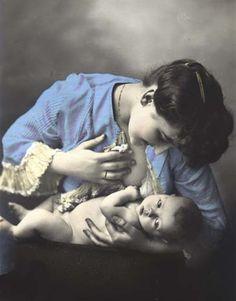 Breast Feeding Art - Prints For Sale