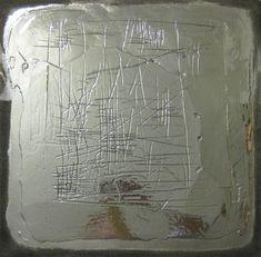 Silver Construction 08 by Eduardo Terranova Painting Burlap, Moon Painting, Original Paintings, Original Art, Abstract Paintings, Art Paintings, Plating Techniques, Custom Metal, Abstract Styles
