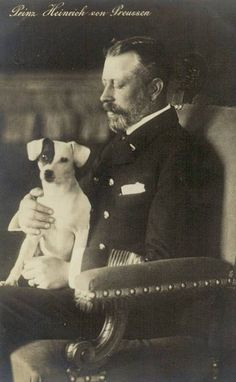 Prinz Heinrich von Preussen, Prince of Prussia 1862 – 1929 | Flickr - Photo Sharing! Queen Victoria Family Tree, Parson Jack Russell, Royal Families Of Europe, Princess Alice, Vintage Dog, Prussia, Duke Of Argyll, Frederick William, German Royal Family