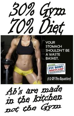 Getting a hot body requires you to pay attention to what you eat...  (The Deerfield Beach Personal Trainer - South Florida Personal training gym for Margate, Coral Springs, Lighthouse Point, Pompano Beach, Boca Raton, Deerfield Beach Florida - http://www.southfloridafitbodybootcamp.com)