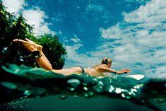 水面が好きだ。サーフィンしたい。