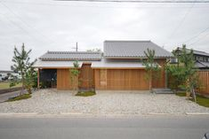 庭つくりの家