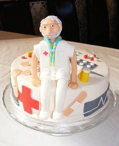 Nurse man cake (Tarta enfermero)