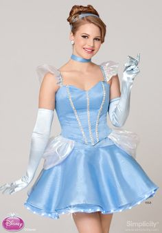 Simplicity Pattern -Sexy Cinderella costume by TheHouseOfZuehl $125 (etsy)