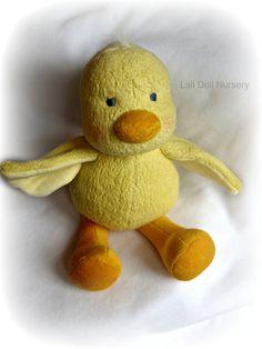 "PDF Pattern  Waldorf Duck by LaliDolls on Etsy, $25.00 13"""