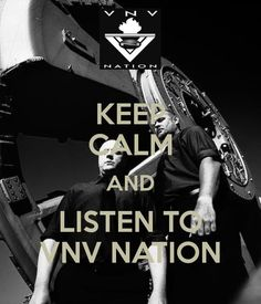 VNV Nation i need this poster