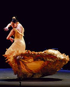As a young girl I always wanted to own a traditional flamenco dress, like this one!