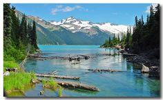The amazing azure of Garibaldi Lake, BC, Canada