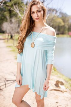 The Most Favorite Dress among our customers and the color is so beautiful! Ice blue is the color people are loving again this summer! Don't wait, these will sell out quick!95% Rayon5% SpandexHand Wash ColdDo Not BleachHang or Line ...