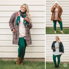 SweetLegs is proud to offer an exciting lineup of exclusive Canadian-designed leggings, perfect for everyone! Sweet Fashion, Women's Fashion, How To Wear Leggings, Oversized Coat, Plus Size Model, Sweet Style, Moto Jacket, Evergreen, Style Guides