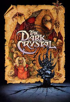 The Dark Crystal.  I remember listening to the book on tape based on this movie in preschool.