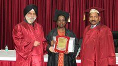 Dr. R. Sivasankari receiving certificate of Fellowship in minimal access Surgery at World Laparoscopy Hospital. For more detail please log on to www.laparoscopyhospital.com