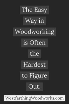 Here is the answer to whether or not woodworking takes a long time to learn. It's different than you might expect. Woodworking Education, Woodworking Terms, Woodworking Bench, Learning Methods, Tips Online, People Online, Read Later, Normal Life, Book Publishing