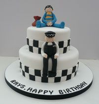 Police Officer Bday Cake