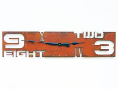 Outnumbered III Modern Wall Clock Extra Large door All15Designs
