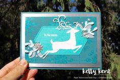 Dashing Deer | kelly kent Christmas Trends, Modern Christmas, Christmas Fashion, Christmas Inspiration, Christmas And New Year, Christmas Cards, New Year Card, Animal Cards, Card Making Inspiration