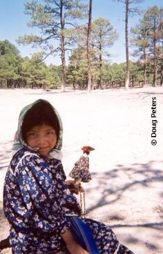 Indigenous Tarahumara child, Mexico