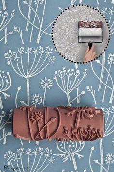 #Rullo da #pittura paint roller: come si usa.