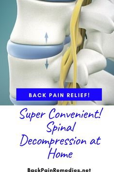 Spinal Decompression Therapy At Home Lower Back Pain Relief, Upper Back Pain, Low Back Pain, Upper Back Strengthening Exercises, Lower Back Exercises, Home Exercise Routines, At Home Workouts, Back Decompression, Back Disc