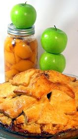 Inspired By eRecipeCards: BEST APPLE PIE EVER...APPLE Peach Crumble PIE!