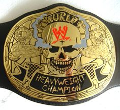 What the WWE Championship *should* look like! Not that fugly spinner crap.