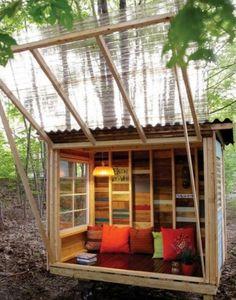 Outdoor Spaces, Outdoor Living, Outdoor Lounge, Pergola Diy, Modern Pergola, Small Pergola, Large Backyard, Pergola Plans, Cool Tree Houses